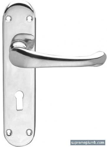 Hilton Lever Lock Chrome Plated